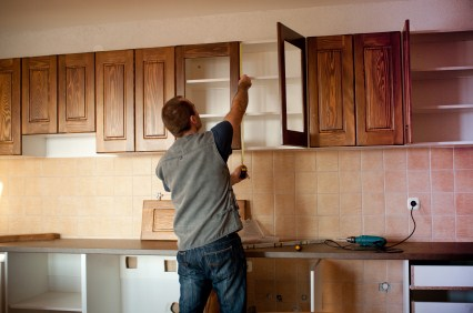 Cabinet refinishing in St Petersburg FL