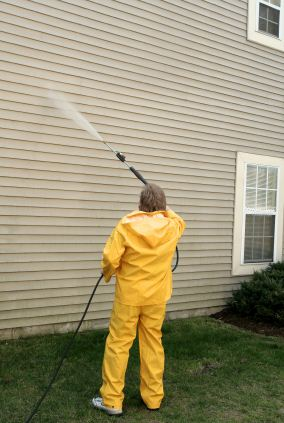 Pressure washing in Richland, FL by Richard Libert Painting Inc..