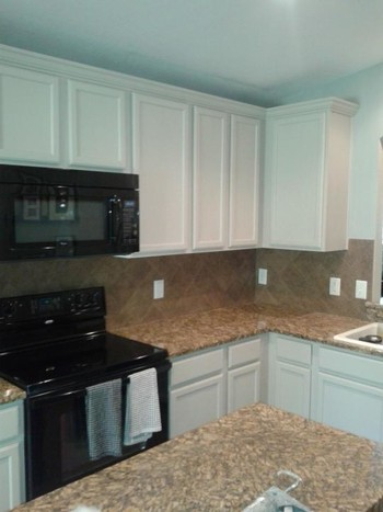 Cabinet refinishing in Tampa Palms FL