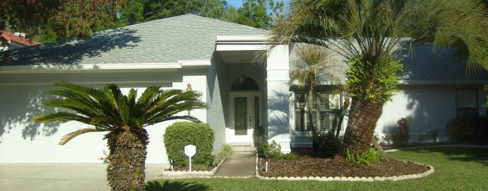 Residential exterior painting in Tarpon Springs FL