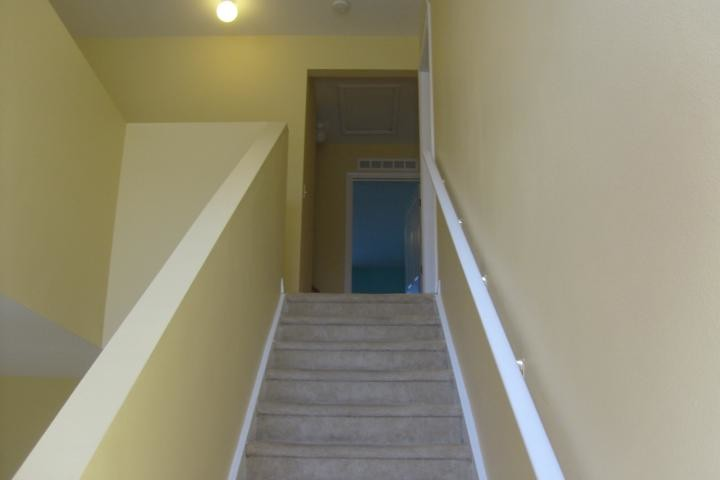 Residential Interior Painting of staircase and landing in Valrico, FL