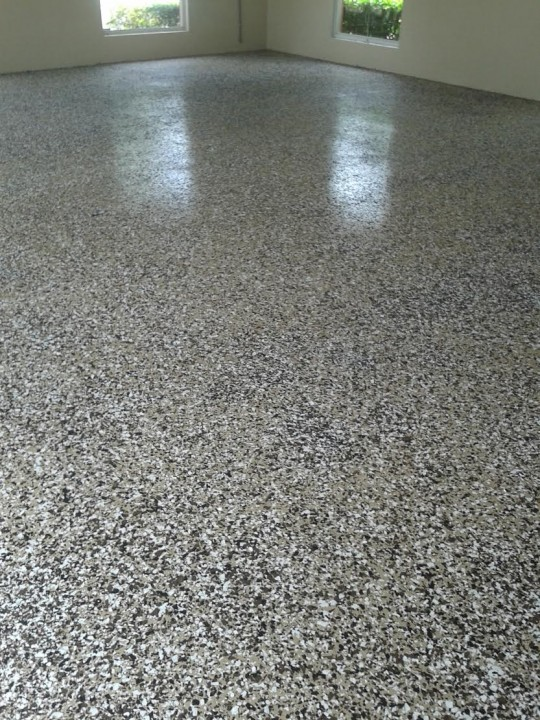 Garage Floor Painting by Richard Libert Painting Inc.